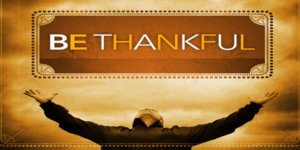 A Thanksgiving Blessing….